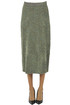 Lurex knit skirt Dries Van Noten