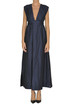Ramie-blend long dress S Max Mara