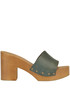 Claudia leather clogs Antidoti
