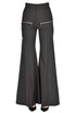 Flared wool-blend trousers Chloé