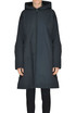 Oversized techno fabric coat Jil Sander