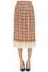 Pleated midi skirt Elisabetta Franchi