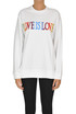 Love Is Love sweatshirt Alberta Ferretti