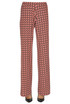 Optical print jersey trousers Martinaesse