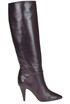 Under the knee leather boots Céline