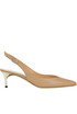 Leather slingback pumps Maison Margiela