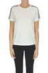 Cotton t-shirt with lace insert RED Valentino