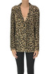 Animal print wool blazer Maliparmi