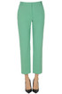 Bello linen-blend trousers Pinko