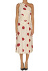 Polka dot print one shoulder dress Space Simona Corsellini