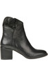 Leather ankle boots Salvador Ribes