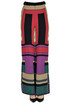 Geometric print knit trousers Devotion