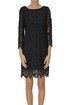 Macramè lace sheath dress Dondup