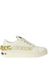 Leather sneakers Love Moschino
