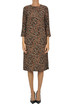 Animal print tunic dress Bellerose
