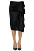 Draped cotton skirt Tara Jarmon