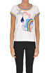 Embroidered cotton t-shirt Marc Jacobs