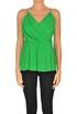 Draped viscose top MSGM