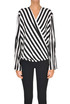 Striped silk blouse Federica Tosi