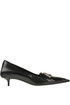 Fringe Knife leather pumps Balenciaga