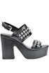 Studded leather sandals Janet&Janet