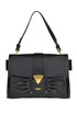 Lock leather bag Moschino Couture