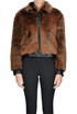 Eco-fur jacket, Dondup