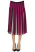 Pleated crepè midi skirt Michael Michael Kors