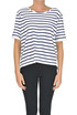 Striped sweatshirt MM6 by Maison Martin Margiela