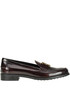 Brushed leather mocassins Tod's