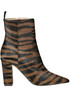 Animal print haircalf ankle boots Alberto Gozzi