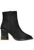 Paloma reptile print suede boots Kat Maconie