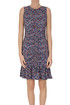 Draped jersey dress Michael Michael Kors