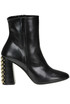 Studdded leather ankle boots Imma Albergo