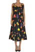 Printed cotton dress MSGM