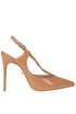 Patent-leather sling-back pumps Schutz