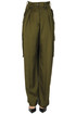 Polka cargo style trousers Dries Van Noten