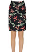 Printed pencil skirt Dondup