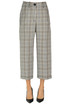 Prince of Wales print trousers MM6 by Maison Martin Margiela