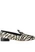 Animal print haircalf loafers Antonio Barbato