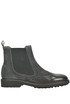 Suede and leather Beatles ankle-boots Franco Fedele