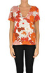 Flower print jersey t-shirt Dodo Bar