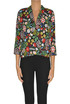 Flower print viscose blouse Traffic People