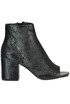 Textured leather ankle-boots. Elvio Zanon