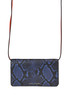 'Block Letter Snake' leather strap wallet Marc Jacobs