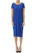 Viscose-blend knit dress Base Milano