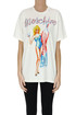 Oversized cotton t-shirt Moschino Couture