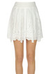 Sangallo lace mini skirt Alberta Ferretti