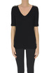 Ribbed cotton t-shirt Fabiana Filippi