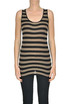 Striped tank-top Soallure